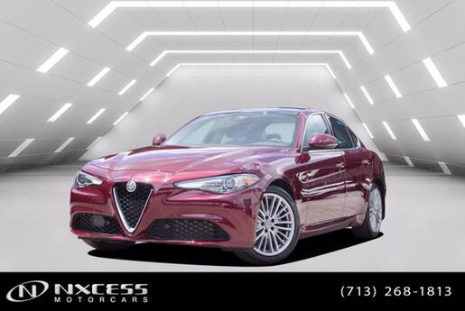 2019 Alfa Romeo Giulia Ti Sport Q4 AWD Only 5K miles MSRP $51940 Factory Warranty. Houston TX