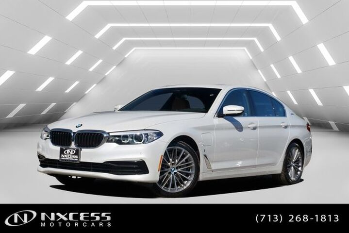 2019 BMW 5 Series 530e iPerformance MSRP $60,000! Houston TX