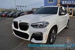 2019_BMW_X3_M40i / M Sport Pkg / AWD / Heated Leather Seats / Heated Steering Wheel / Navigation / Panoramic Sunroof / HUD / Lane Departure & Blind Spot Alert / Bluetooth / Back Up Camera / 27 MPG / 1-Owner_ Anchorage AK