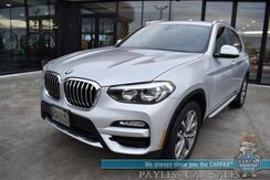 2019_BMW_X3_xDrive30i / AWD / Automatic / Heated Leather Seats / Blind Spot Alert / Bluetooth / Back Up Camera / Cruise Control / 29 MPG_ Anchorage AK