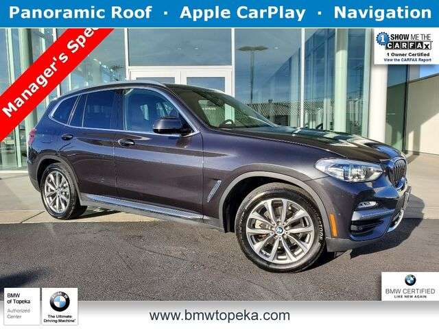 2019 BMW X3 xDrive30i Kansas City KS