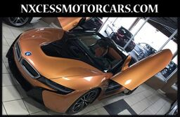 BMW i8 CONVERTIBLE PLUG IN HYBRID CARBON FIBER TRIM WARRANTY. 2019