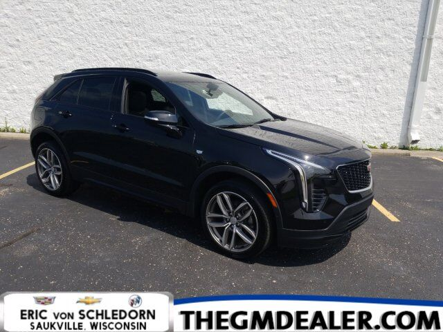 2019 Cadillac XT4 Sport AWD MSRP:$56835 w/AdaptiveCruise Sunroof Nav HtdCldMemLthr 20s CUE RearCamMrr SrrndVson Milwaukee WI
