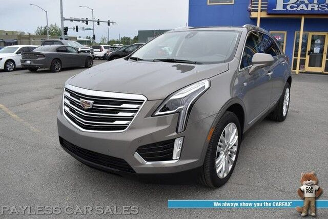 2019 Cadillac XT5 Premium Luxury / AWD / Heated & Cooled Leather Seats / Heated Steering Wheel / Navigation / Panoramic Sunroof / Bose Speakers / Auto Start / Blind Spot & Collision Alert / Lane Departure Alert / 25 MPG / 1-Owner Anchorage AK
