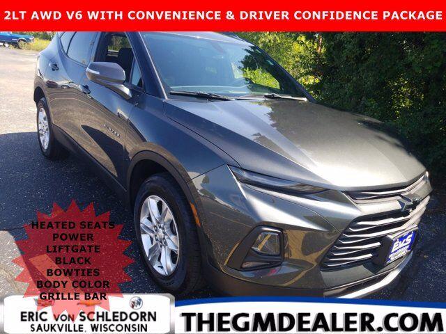 2019 Chevrolet Blazer 2LT AWD 3.6L Conv&DrvrConfPkg w/BlackBowties BodyColorGrilleBar HtdCloth PwrLiftgate RearCamera Milwaukee WI