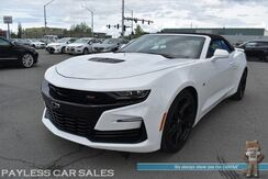 2019_Chevrolet_Camaro_2SS / Convertible / 6.2L V8 / BREMBO Brakes / Auto Start / Power & Heated Leather Seats / Heated Steering Wheel / Heads Up Display / Bose Speakers / Bluetooth / Back Up Camera / Aluminum Wheels / 24 MPG / 1-Owner_ Anchorage AK