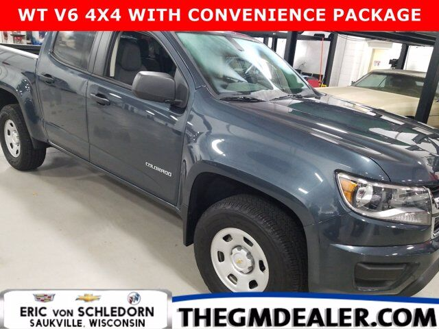 2019 Chevrolet Colorado Crew Cab 4WD ConveniencePkg w/RearCamera Milwaukee WI