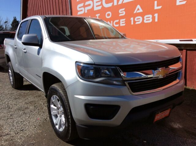 2019 Chevrolet Colorado LT Crew Cab 4WD Short Box Spokane WA