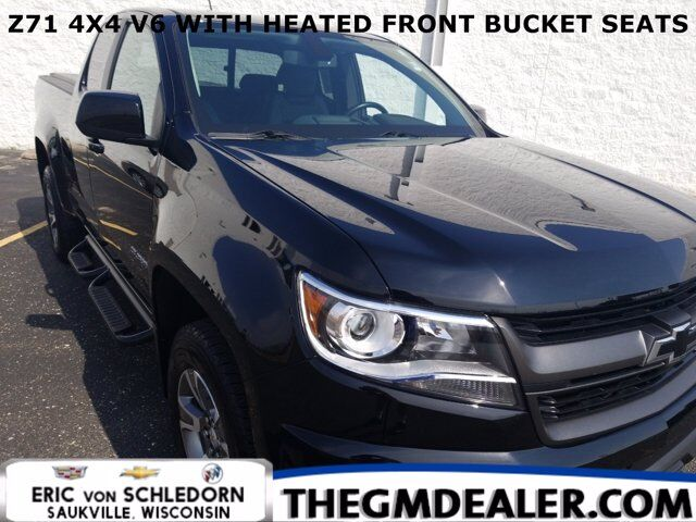 2019 Chevrolet Colorado Z71 Extended Cab 4WD 3.6L w/HtdCloth BlackBowties HD-RearCamera Milwaukee WI