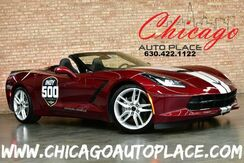 2019_Chevrolet_Corvette_2LT Stingray Convertible - 2019 INDY 500 OFFICIAL VEHICLE 6.2L V8 ENGINE REAR WHEEL DRIVE SURROUND VIEW CAMERAS HEATED/COOLED SEATS HEADS-UP DISPLAY_ Bensenville IL