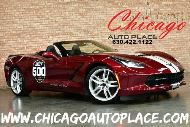 2019 Chevrolet Corvette 2LT Stingray Convertible - 2019 INDY 500 OFFICIAL VEHICLE 6.2L V8 ENGINE REAR WHEEL DRIVE SURROUND VIEW CAMERAS HEATED/COOLED SEATS HEADS-UP DISPLAY Bensenville IL