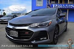 2019_Chevrolet_Cruze_LT / RS Package / Convenience Package / Power & Heated Seats / Auto Start / Apple CarPlay / Android Auto / Back Up Sensors & Camera / Block Heater / 1-Owner_ Anchorage AK