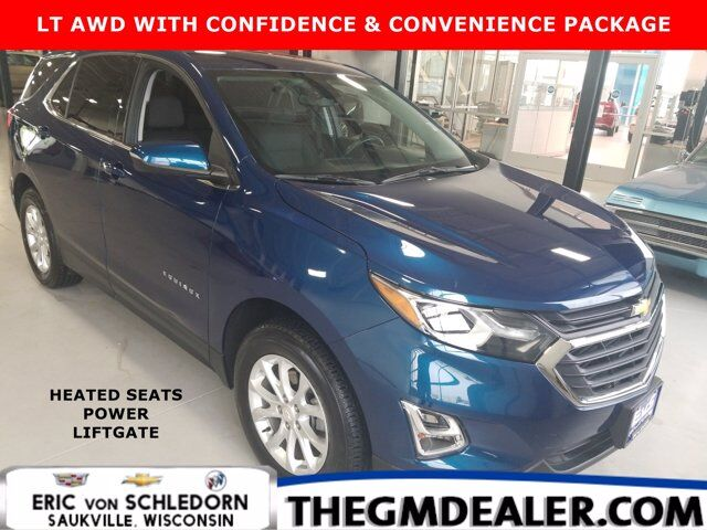2019 Chevrolet Equinox LT AWD 1.5L Turbo Confidence&ConveniencePkg w/HtdCloth PowerLiftgate RearCamera Milwaukee WI