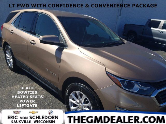 2019 Chevrolet Equinox LT FWD 1.5L Turbo Confidence&ConveniencePkg w/BlackBowties HtdCloth PwrLiftgate RearCamera Milwaukee WI