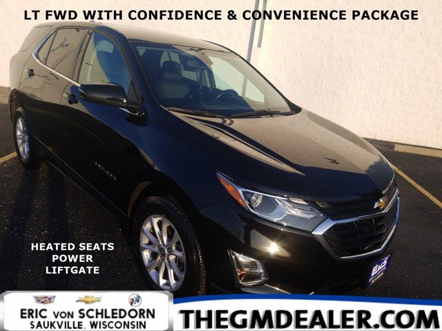 2019 Chevrolet Equinox LT FWD 1.5L Turbo Confidence&ConveniencePkg w/HtdCloth PowerLiftgate RearCamera Milwaukee WI