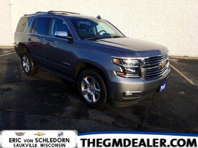 2019 Chevrolet Tahoe Premier 4WD MaxTraileringPkg w/AdaptiveCruise PwrRetractSteps Sunroof Nav DVD Milwaukee WI