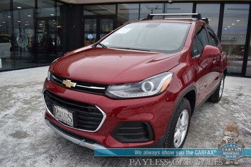 2019 Chevrolet Trax LT / AWD / Automatic / Power Driver's Seat / Sunroof / Bose Speakers / Blind Spot Alert / Bluetooth / Back Up Camera / Cruise Control / Aluminum Wheels / Block Heater / 29 MPG / 1-Owner Anchorage AK
