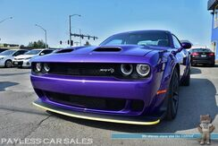 2019_Dodge_Challenger_SRT Hellcat / Wide Body / 6.2L HEMI Supercharged / 6-Speed Manual / Sunroof / Navigation / Heated & Cooled Laguna Leather Seats / Harman Kardon Speakers / Bluetooth / Back-Up Camera / 1-Owner_ Anchorage AK