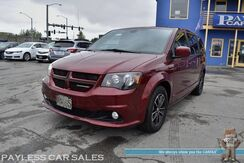2019_Dodge_Grand Caravan_GT / Auto Start / Power & Heated Leather Seats / Heated Steering Wheel / Power Sliding Doors / Navigation / Rear Captain Chairs / 3rd Row / Seats 7 / Bluetooth / Back Up Camera / 1-Owner_ Anchorage AK