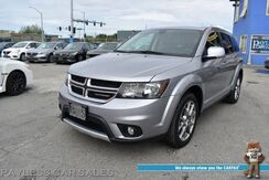 2019_Dodge_Journey_GT / AWD / Auto Start / Heated Leather Seats / Heated Steering Wheel / Alpine Speakers / 3rd Row / Seats 7 / Bluetooth / Back Up Camera / Cruise Control / Aluminum Wheels / 24 MPG / 1-Owner_ Anchorage AK