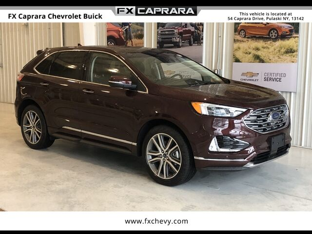2019 Ford Edge Titanium Watertown NY