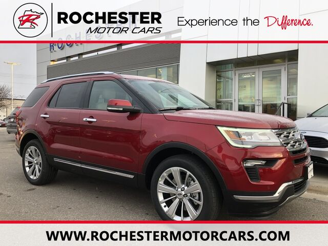 Ford Rochester Mn >> 2019 Ford Explorer Limited N Rochester Mn 27123235