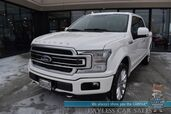 2019 Ford F-150 Limited / 4X4 / Auto Start / Heated & Cooled Massaging Seats / Heated Steering Wheel / Sunroof / B&O Speakers / Navigation / Adaptive Cruise / Lane Departure & Blind Spot / Bed Liner / Tow Pkg / Block Heater