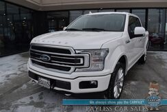 2019_Ford_F-150_Limited / 4X4 / Auto Start / Heated & Cooled Massaging Seats / Heated Steering Wheel / Sunroof / B&O Speakers / Navigation / Adaptive Cruise / Lane Departure & Blind Spot / Bed Liner / Tow Pkg / Block Heater_ Anchorage AK