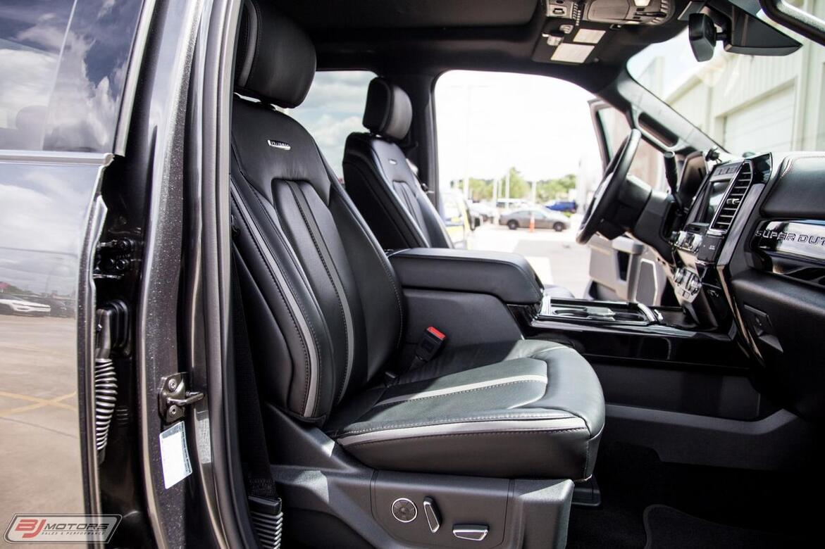 2019 Ford F-450 Super Duty Platinum Tomball TX