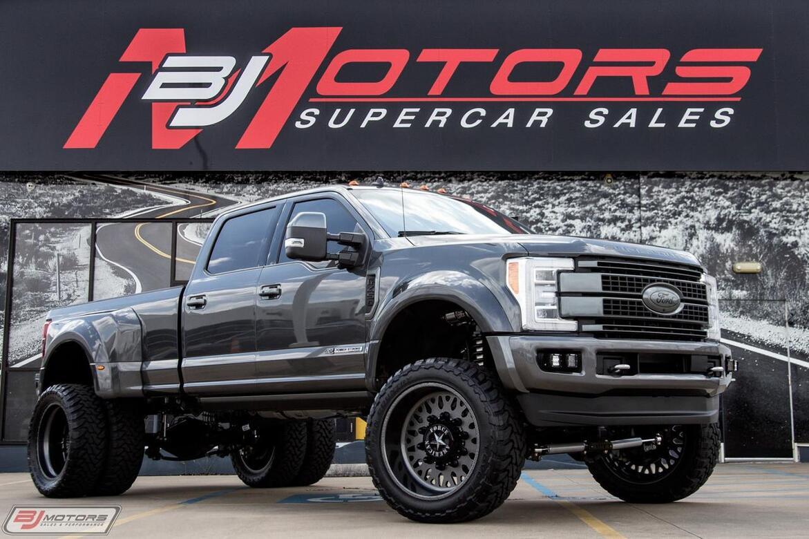 2019 Ford F 450 Super Duty Platinum Tx 29548581