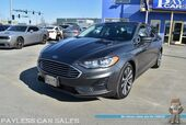 2019 Ford Fusion SE / AWD / Ecoboost / Power & Heated Cloth Seats / Sunroof / Bluetooth / Back Up Camera & Back Up Sensors / Apple CarPlay & Android Auto / Blind Spot Alert / Aluminum Wheels / Keyless Entry & Start / 1-Owner