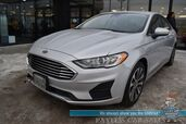 2019 Ford Fusion SE / AWD / Heated Seats / Sunroof / Lane Departure & Blind Spot Alert / Bluetooth / Back Up Camera / Cruise Control / Block Heater / 29 MPG / 1-Owner