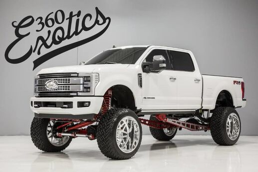 2019 Ford Super Duty F-250 Platinum 'Custom Build Austin TX