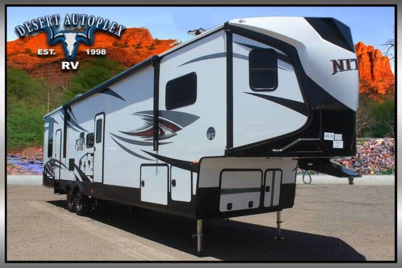 2019 Forest River Xlr Nitro 35vl5 Double Slide Fifth Wheel