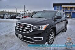 2019_GMC_Acadia_SLE / AWD / Auto Start / Heated Seats / Dual Sunroof / Bose Speakers / Blind Spot Alert / Rear Captain Chairs / 3rd Row / Seats 6 / Bluetooth / Back Up Camera / 25 MPG_ Anchorage AK