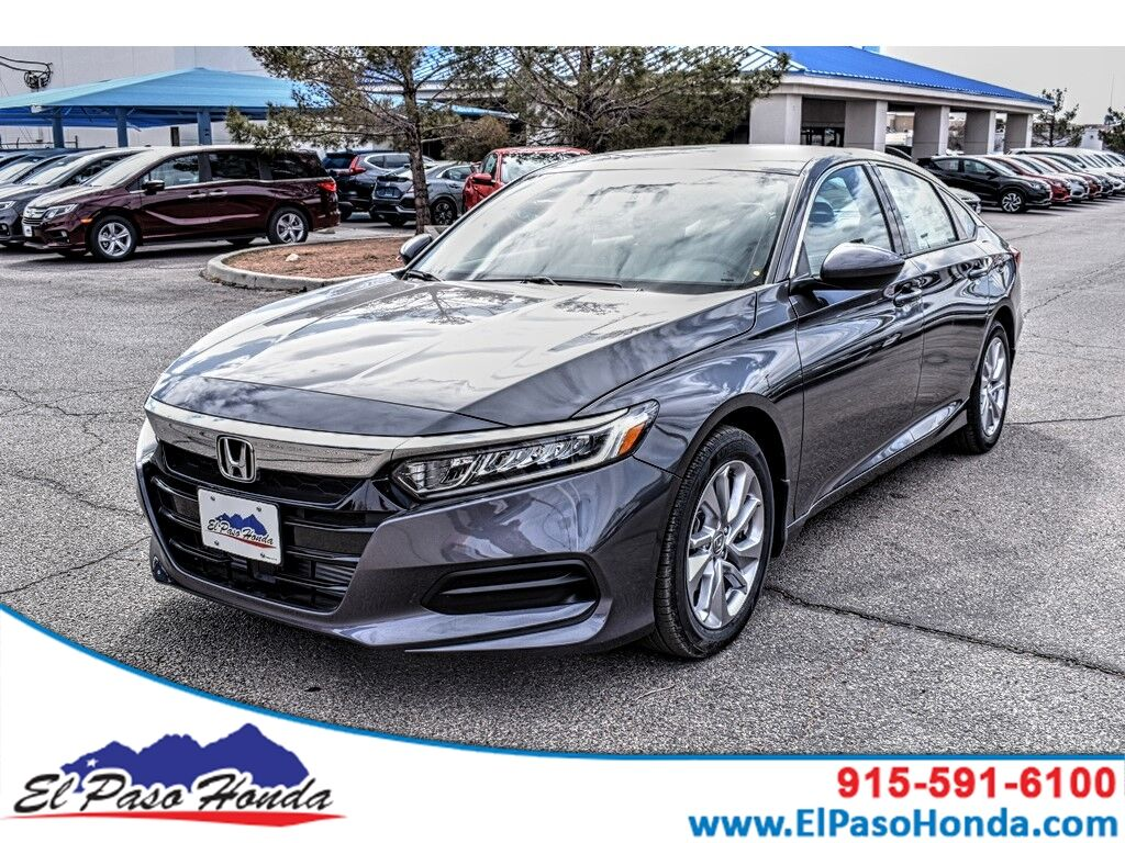 Honda Accord Sedan >> 2019 Honda Accord Sedan Lx 1 5t Cvt