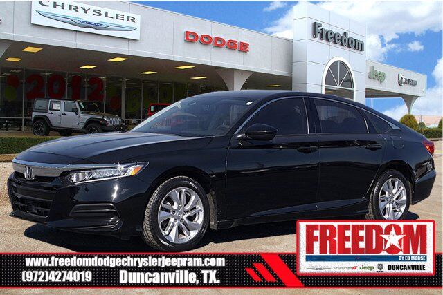 2019 Honda Accord Sedan LX 1.5T Duncanville TX