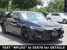 2019 Honda Accord Sedan Touring 2.0T San Antonio TX