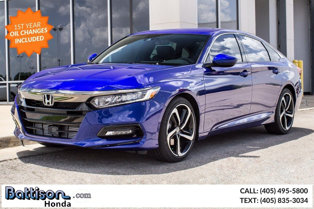 Honda Certified Pre Owned Financing >> 2019 Honda Accord Sport Oklahoma City OK 27121746
