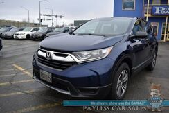 2019_Honda_CR-V_LX / AWD / Automatic / Bluetooth / Back Up Camera / Cruise Control / 31 MPG / 1-Owner_ Anchorage AK