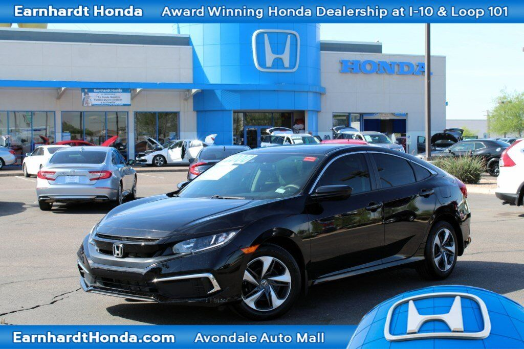 Honda Dealership Az >> 2019 Honda Civic Sedan Lx