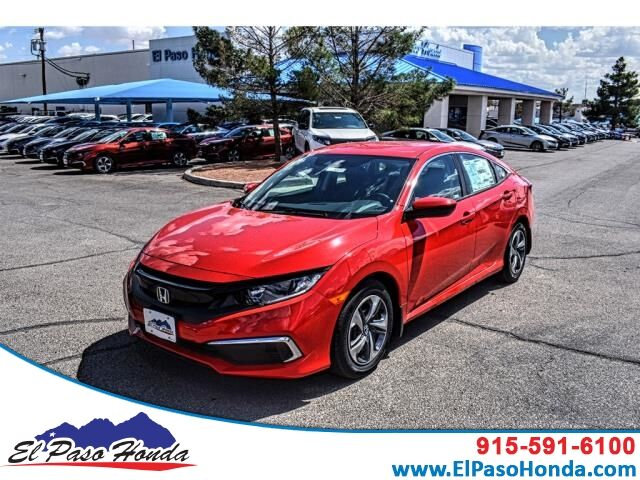 2019 Honda Civic Sedan LX CVT El Paso TX