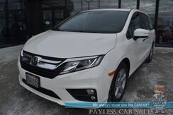 2019_Honda_Odyssey_EX-L / Auto Start / Heated Leather Seats / Sunroof / Adaptive Cruise Control / Lane Departure Alert / 3rd Row / Seats 8 / Bluetooth / Back Up Camera / 28 MPG / 1-Owner_ Anchorage AK