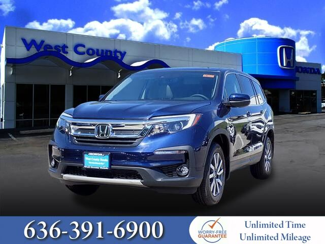 2019 Honda Pilot Ex L W Rear Entertainment System Ellisville Mo