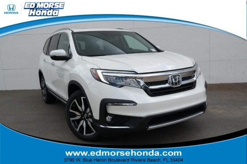 7 Passenger Vehicles >> Vehicle Details 2019 Honda Pilot At Ed Morse Honda Riviera Beach