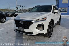 2019_Hyundai_Santa Fe_Ultimate / AWD / Heated & Cooled Leather Seats / Heated Steering Wheel / Heads Up Display / Navigation / Infinity Speakers / Panoramic Sunroof / Blind Spot & Lane Depart Alert / Adaptive Cruise / 1-Owner_ Anchorage AK