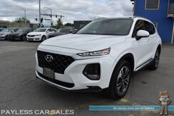 2019_Hyundai_Santa Fe_Ultimate / AWD / Heated & Cooled Leather Seats / Heated Steering Wheel / Navigation / Infinity Speakers / Sunroof / Adaptive Cruise / Blind Spot & Lane Departure Alert / Keyless Entry & Start / 1-Owner_ Anchorage AK