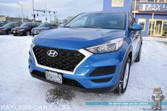 2019_Hyundai_Tucson_SE / HTRAC AWD / Stain & Odor Resistant Cloth Seats / Apple CarPlay & Android Auto / Back Up Camera / Blind Spot & Lane Keep Assist / Collision-Avoidance Assist / Projector Headlights / Rear Spoiler / 1-Owner_ Anchorage AK