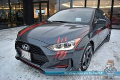 2019_Hyundai_Veloster_Turbo Ultimate / Automatic / Heated Leather Seats / Heads Up Display / Blind Spot & Lane Depart Alert / Adaptive Cruise Control / Sunroof / Navigation / Infinity Speakers / Bluetooth / Back Up Camera / 34 MPG_ Anchorage AK