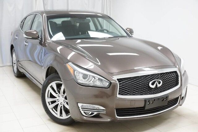 2019 INFINITI Q70 3.7 LUXE AWD Navigation Sunroof 360 Camera 1 Owner Avenel NJ